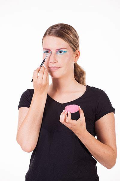 schminkanleitung flamingo buttinette faschingsblog