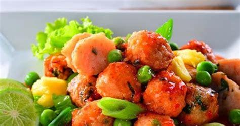 Kacang Bangkok Goyang Lidah resep membuat bola udang saus bangkok enak info resep masakan