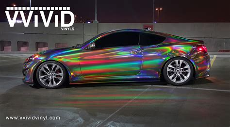 chrome wrapped our films your projects vvivid vinyl