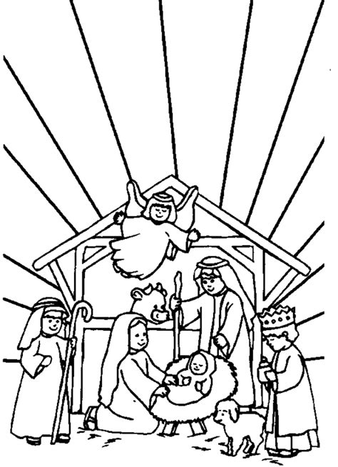 coloring pages jesus birth story bible coloring pages coloring town