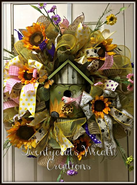 spring butterfly wreath artificialchristmaswreaths com 378 best birdhouse wreaths images on pinterest summer