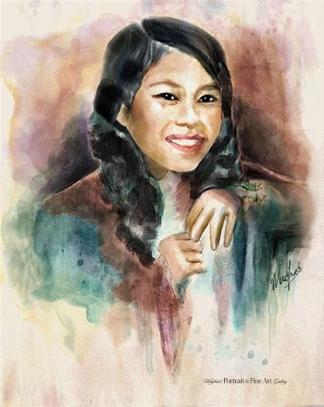 watercolor tutorial corel painter watercolor portraits winifred s portrait fine art gallery