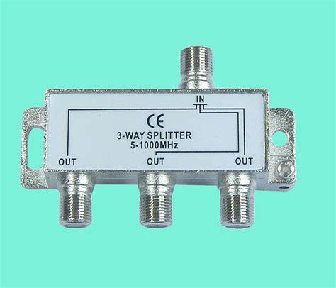 Splitter Gsm 3way 5 1000mhz 3 way splitter rse 6312 product catalog china