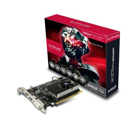 Sapphire Ati Radeon Vga R7 240 2g Ddr3 With Boost sapphire radeon r7 240 2gb gddr3 ekran kartı 11216 00 20g
