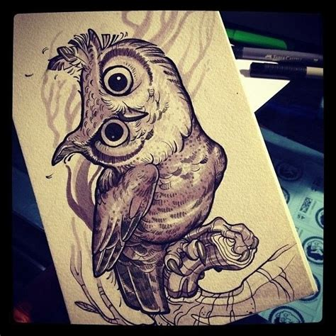 neo traditional owl tattoo 541 best owl tattoos images on owl tattoos