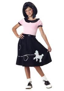 halloween poodle skirt costumes girls 50 s sock hop costume kids 50 s poodle skirt sock