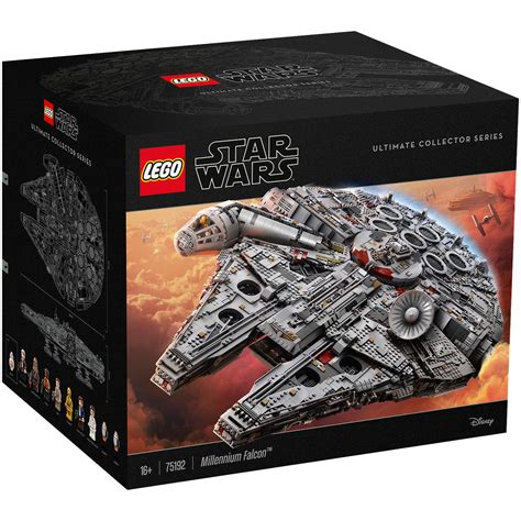 Ultimate Series wars lego ultimate collector series 75192 millennium