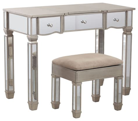 bedroom rodeo powell rodeo vanity 14v8121 contemporary bedroom makeup vanities by gwg outlet