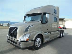 Volvo Sleeper 2016 Volvo Vnl64t780 Sleeper Truck For Sale Missoula Mt