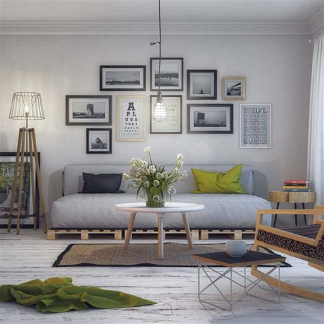 nordic style living room scandinavian living room by milan stevanovic