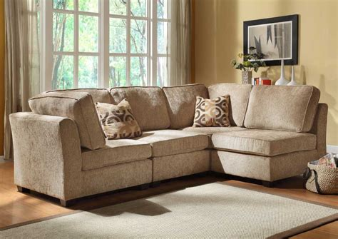 Sectional Furniture Sets by Brown Beige Sectional Sofa Set Plushemisphere