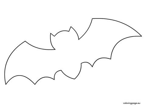 bat template picture templates bat printable templates