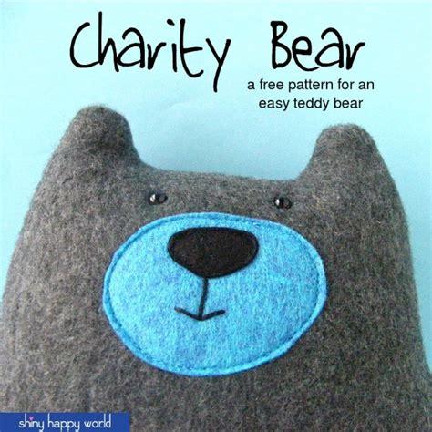 verb pattern bear warren the charity bear a free teddy bear pattern