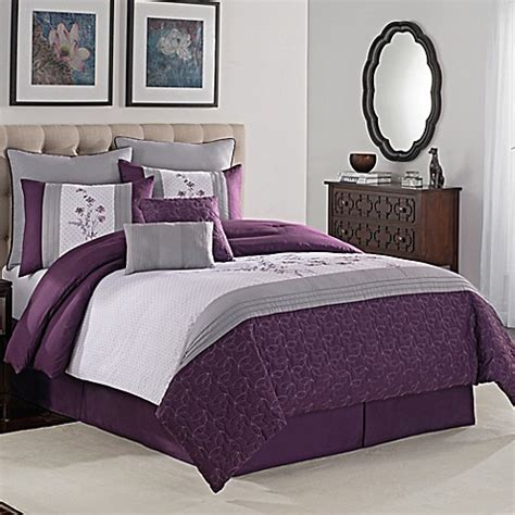 avalon 8 piece comforter set bed bath beyond