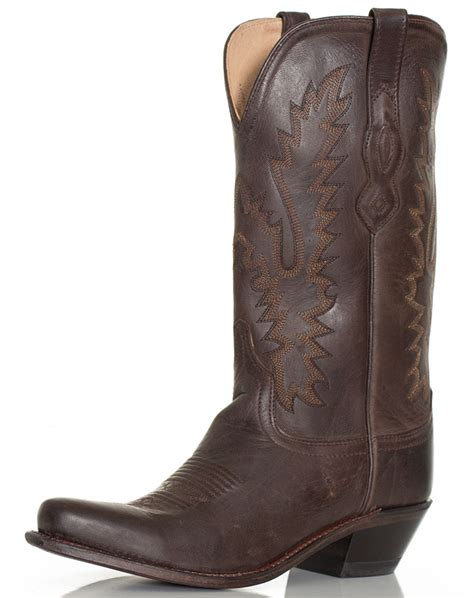 western cowboy boots for west s 12 quot snip toe western boots brown