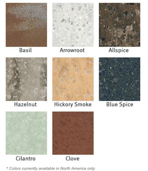 corian countertop colors new dupont corian 174 colors add a dash of spice 171 beverin