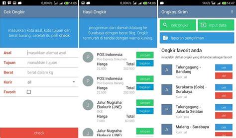 4 aplikasi android cek ongkir ongkos kirim 4 aplikasi android cek ongkir ongkos kirim