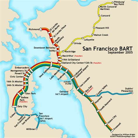 san francisco map with bart max pictures blather 187 archive 187 tomodachi kara mono