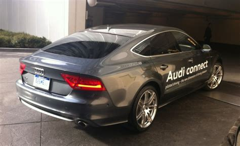 Audi Self Park by We Watch A Audi A7 Drive Away And Park All By Itself With