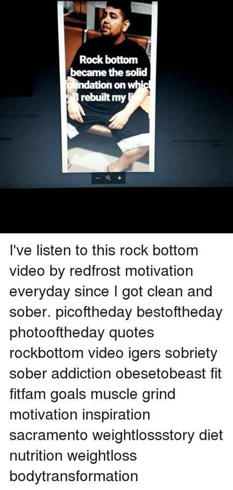 Clean And Sober Detox Sacramento by Rock Bottom Became The Solid Ndation On Rebuilt My I Ve