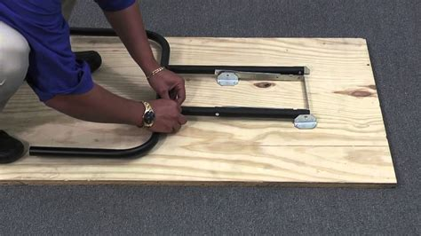 diy foldable table legs how to assemble waddell folding table legs