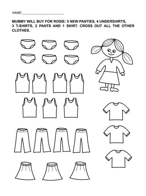 Fun Kids Worksheets Kiddo Shelter Print Activities For