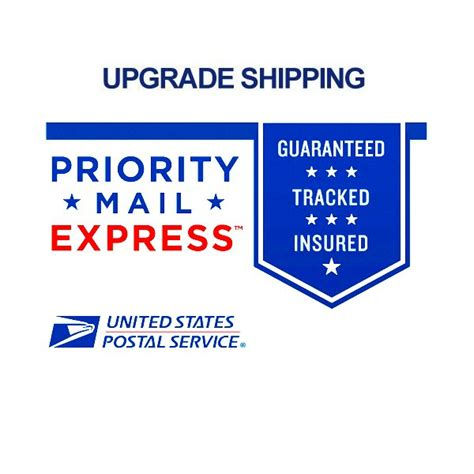 Us Post Office Priority Mail by Usps Priority Mail Express Upgrade Us Only