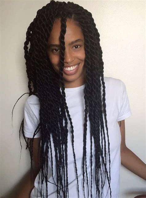 braid long thin hair 50 thrilling twist braid styles to try this season