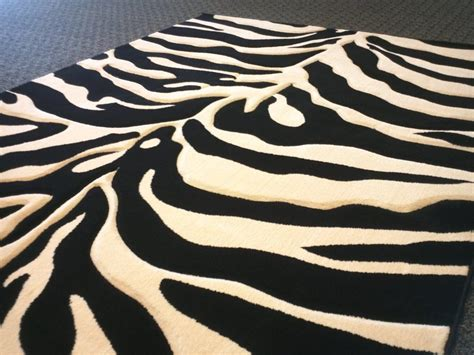 Zebra Area Rug 8x10 Zebra Print Area Rug 8 215 10 Best Decor Things