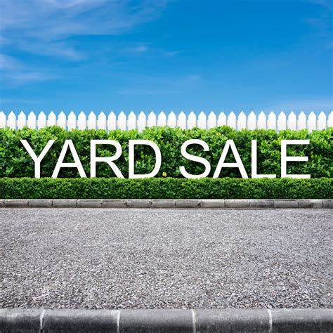 backyard sales having a yard sale the official site of south toms river