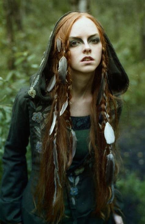 celtic warrior hair braids wood elf larp elfish style costume ideas pinterest