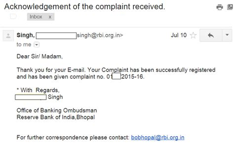 Complaint Letter Via Email File A Complaint Against Standard Chartered Bank In India Daily Tech Tutorials