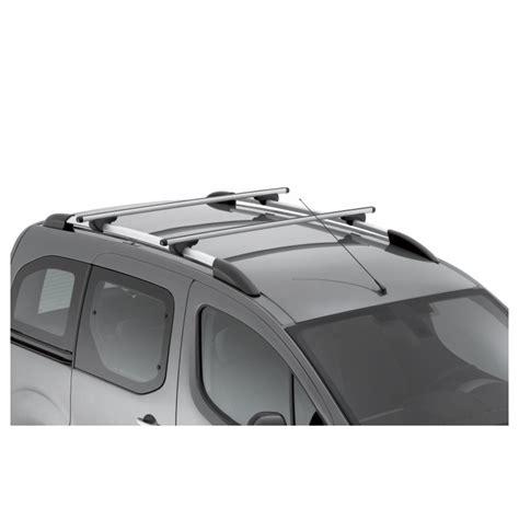 Roof Racks Peugeot Partner by Set Of 2 Transverse Roof Bars Peugeot Partner Tepee