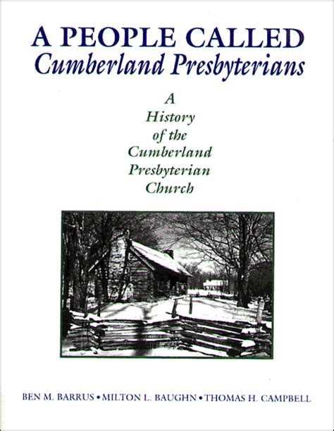 called to be books called the cumberland presbyterians book