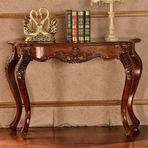 Antique Wood Carved Console Table Buy