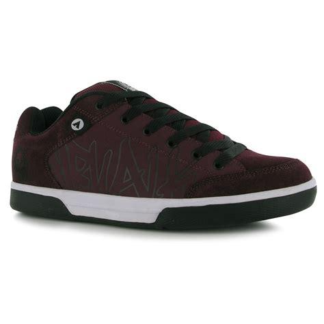 burgundy sneakers mens airwalk outlaw skate shoes mens burgundy casual trainers