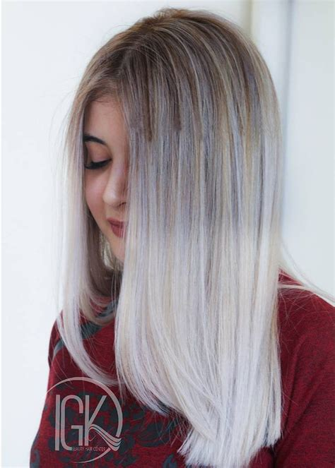 Ombre Look Grau by The Best Trending Grey Ombre Hair Ideas 2017 Grey Hair