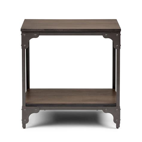 simpli home end table simpli home nantucket walnut brown end table 3axcntt 03