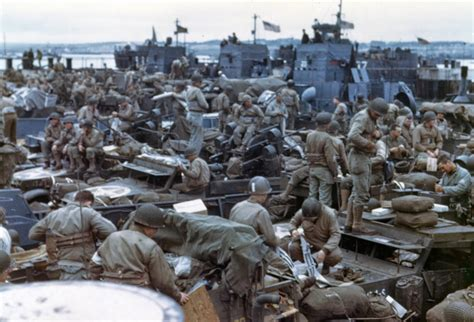 d day color photographs of d day and the normandy invasion in