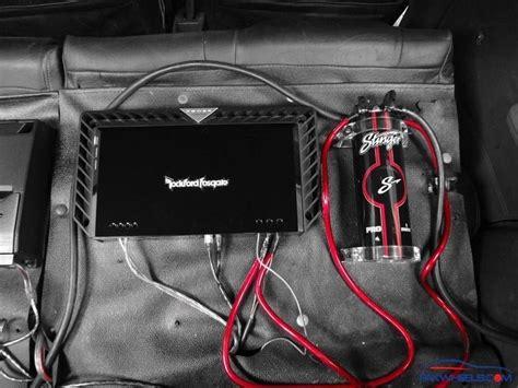 stinger audio capacitor wiring repair wiring scheme