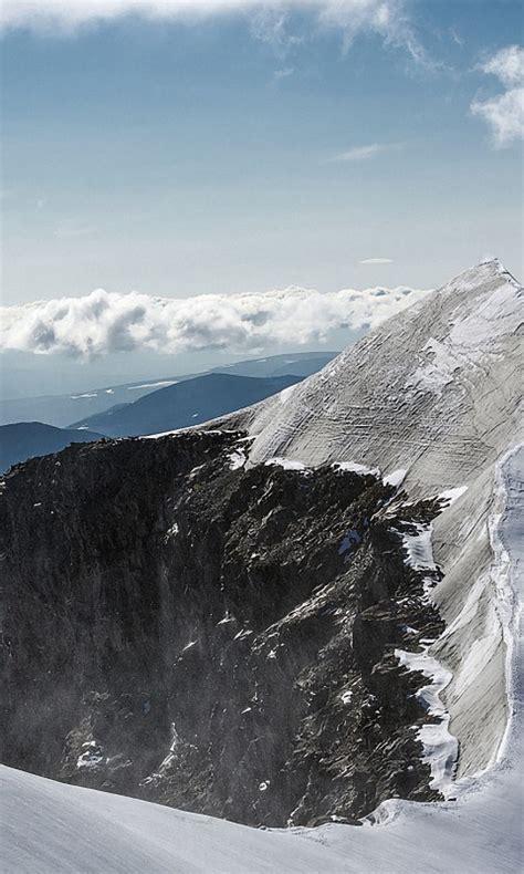 wallpaper mountain peak microsoft surface laptop stock