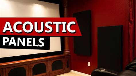 importance  room treatments  acoustic panels  home