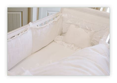 White Bumper Pads For Crib by B 233 B 233 Papillon European Styled Baby Linens Bedding Crib