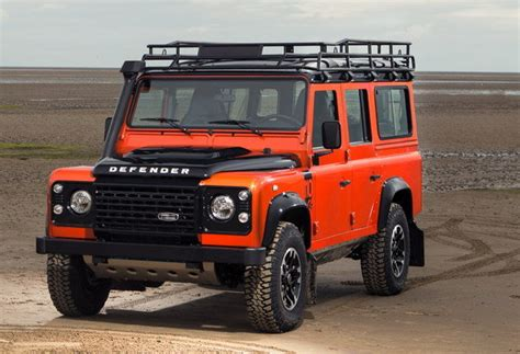 land rover truck 2015 2015 land rover defender adventure edition picture