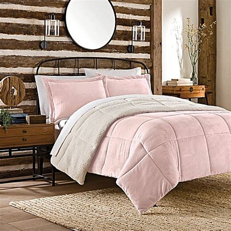 soft plush comforters buy so soft plush reversible mini comforter set from bed