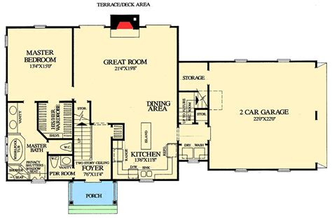 cape cod floor plans cape cod with open floor plan 32435wp architectural