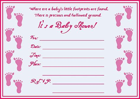 Baby Shower Invitation Card Template Free Printable 4 Fold by Free Baby Shower Invitations For Oxyline 2f0cf64fbe37