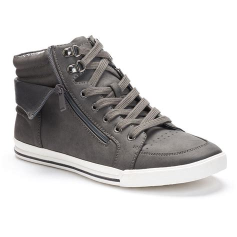top oxford shoes rock republic high top oxford shoes from kohl s things