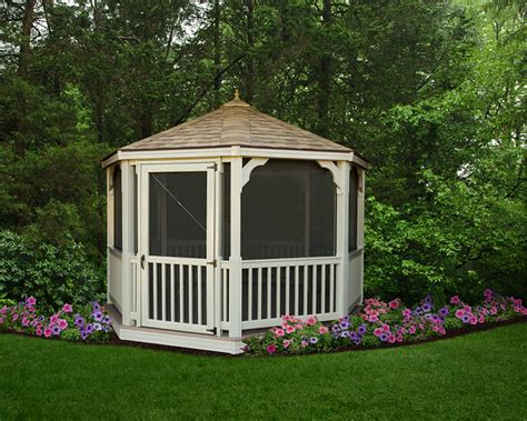 Screened Gazebo Kits Gazebos Screen Gazebo Kits