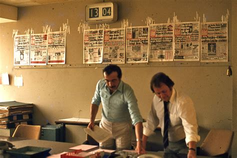 newspaper design editor job description file editorial office of bild newspaper west berlin 1977